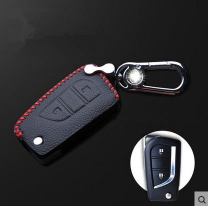High quality! Special car key case for New Toyota Highlander 7seats 2016-2015 durable key holde car key wallet,Free shipping