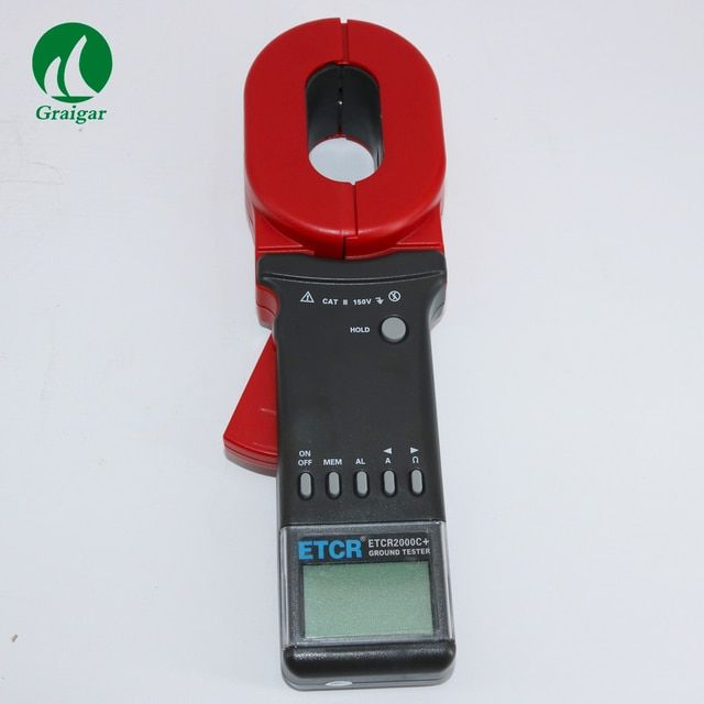 ETCR2000C+ Clamp Earth Resistance Tester ground / loop  resistance measurement