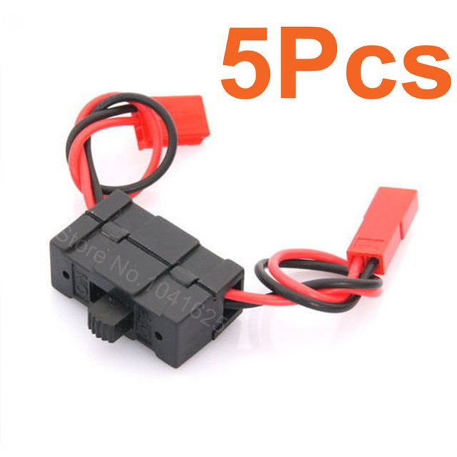 5Pcs/Lot HSP 02050 On-OFF Battery Receiver Switch 1:10 RC Car Truck 94105 94108  94101 94102