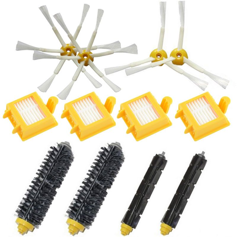 For iRobot Roomba 770 replacement parts irobot 780 roomba Filter 750 760 761 790 Side Brush Vacuum Cleaner accessories