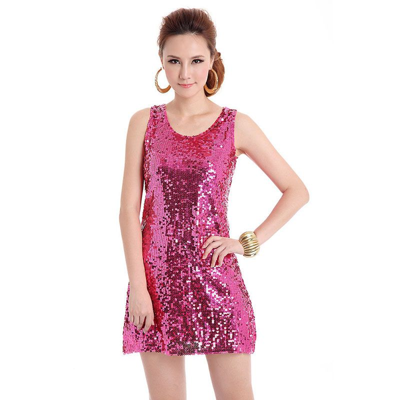 BLINGSTORY European style beautiful shinning Bling-Bling Sequin lady club dress,  apparel vestidos Dropshipping