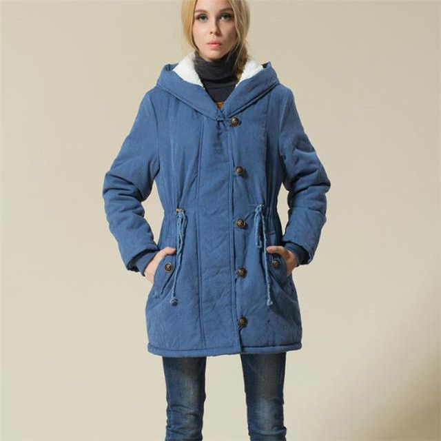 High quality Plus Size Women Winter Jackets Cotton Padded Female Long Cashmere Coat Winter Jackets 2XL 3XXL 4XXXL TT156