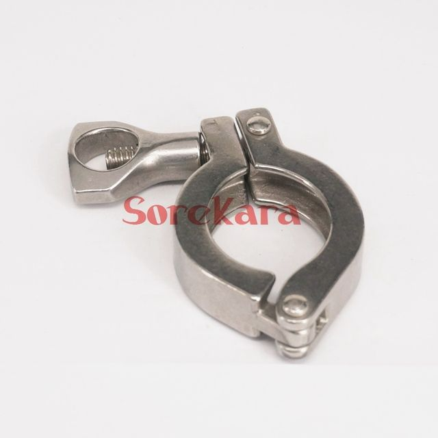 40mm Ferrule O/D 304 Stainless Steel Casting Tri Clamp Sanitary Fitting Dairy Brewing Tri Clover