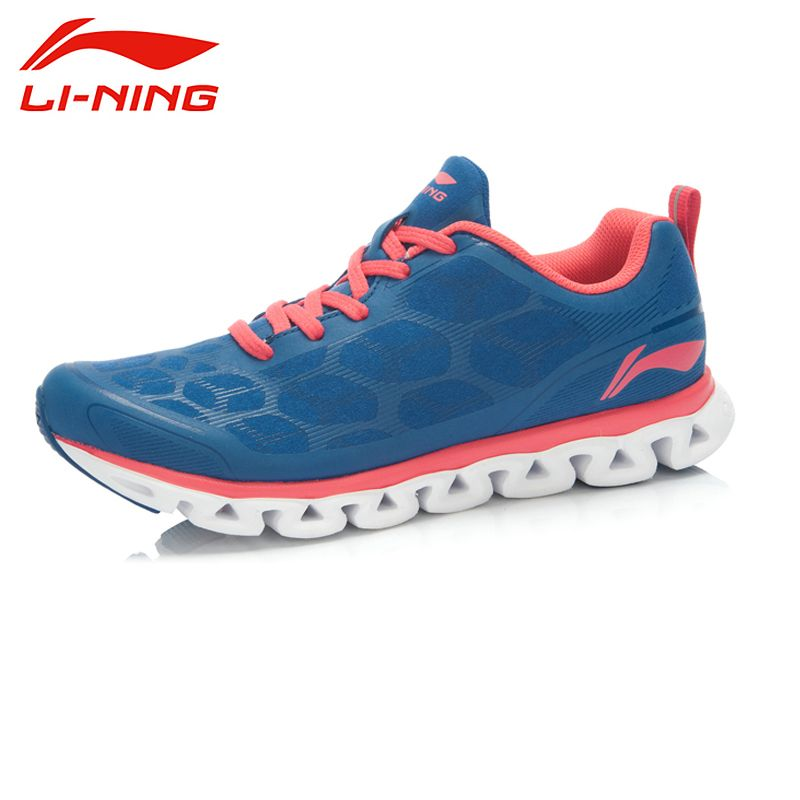 LI-NING Arch Low Cut Damping Super Light Breathable Charming Color Crash Sport Shoes Sneakers Running Shoes Women ARHJ052 XYP039