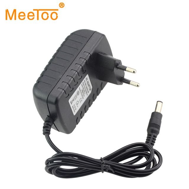New 100% Original Led Power Adapter AC100-240V To DC12V EU Charger 2A Switching Power Supply Converter For Led Strips