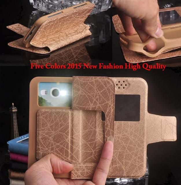 Wexler ZEN 5 Case, 2015 New Fashion Flip Silicon Universal Wexler ZEN 5 Phone Cases Free Shipping