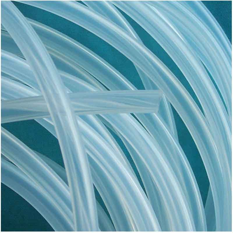 2mm x 3mm Food Grade Silicone Rubber Flexible Tube , Hose , Pipe