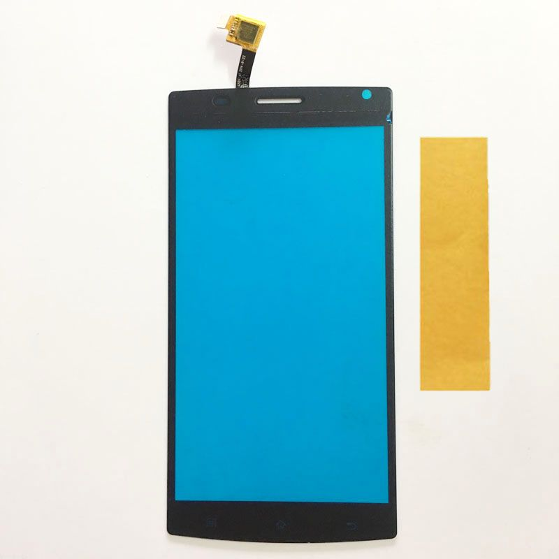 "New 5.5"" Touch Screen For MegaFon Login+ MFLoginPh Phone Touch Screen Digitizer Panel Glass Sensor Black Color"