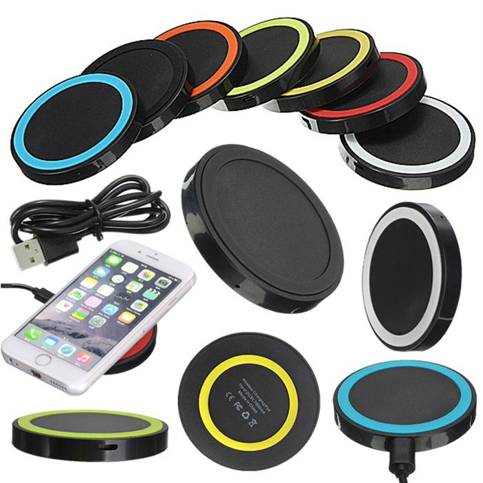 QI Wireless Charging Charger Power Pad For iPhone 7 6s 6 for Samsung Galaxy Note 5 4 for LG Nexus 5 4 Nokia HTC etc. phone