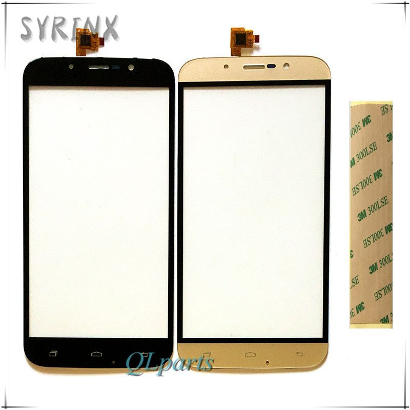 SYRINX With Tape touch screen For Umi Rome X touchscreen touch screen digitizer sensor mobile phone touch panel front glass