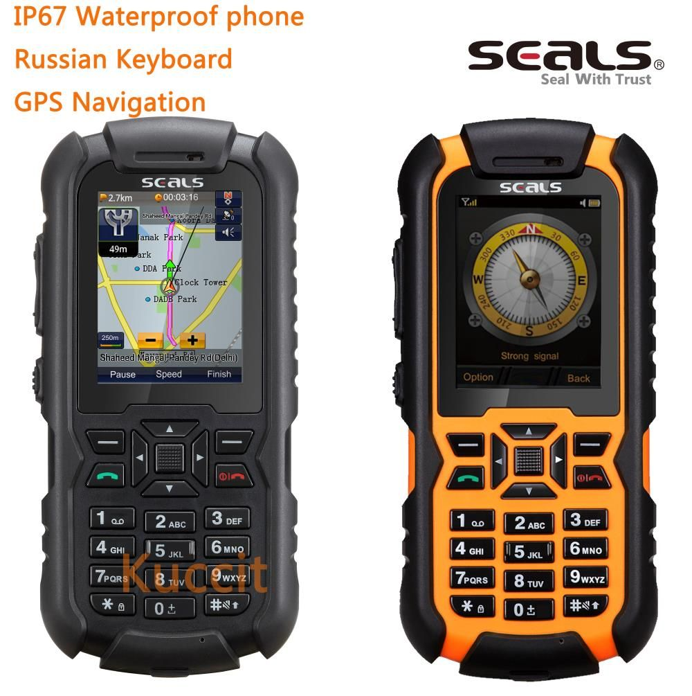 unlocked Mobile phone brand Britain seals VR7 IP67 rugged waterproof Shockproof dustproof phone GPS Navigation Russian Keyboard