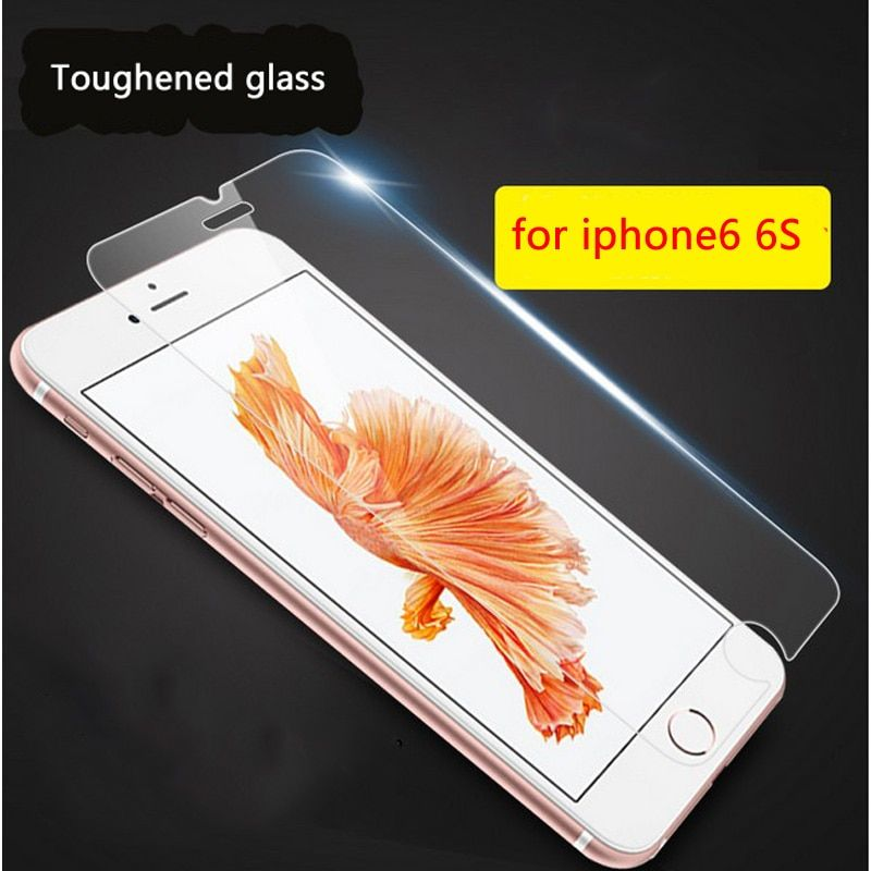 For iphone 6 tempered glass for iPhone 6S 7 8 plus 5.5 Protector glass for iphone 11 Pro X XR XS MAX screen protector Film