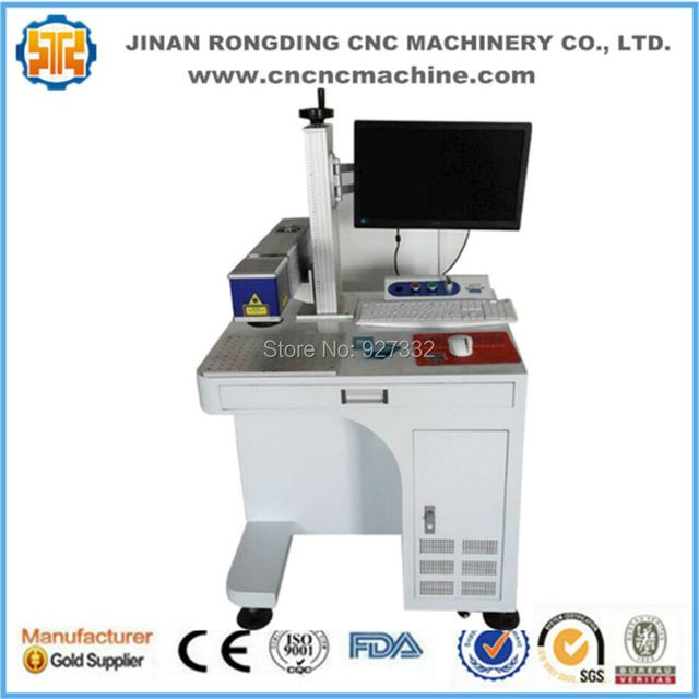Factory price Raycus 20w 30w fiber laser marking machine for metal nonmetal