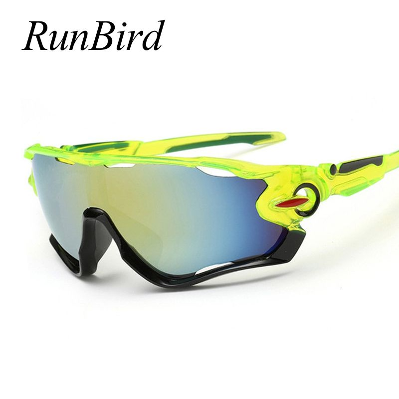 RunBird  Sunglasses Brand Designer Man's Fishing Sun Glasses Vintage Style Goggles High Quality Sunglasses 239R