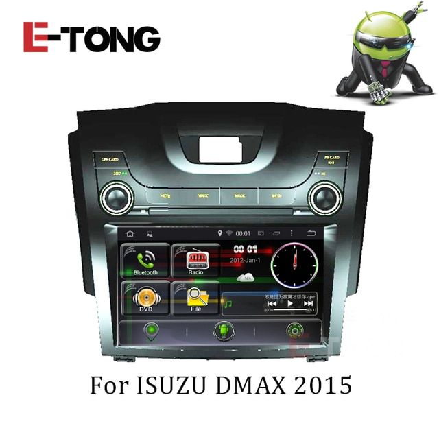 Android 4.4.4 Car DVD GPS Quad Core For Isuzu DMAX D-MAX Chevrolet Colorado S10 2013 Radio RDS Built-in Wifi Support OBDll 3G
