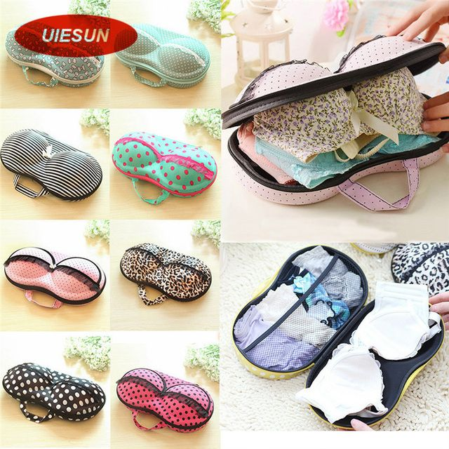 8 Colors Storage Bag Box Protect Bra Organizer Container Underwear Case Travel Portable UIE493