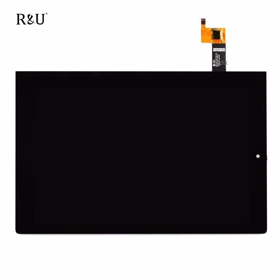 R&U test good Touch Screen Digitizer + LCD Display panel Assembly For Lenovo Yoga Tablet 2 1050LC 1050F 1050L MCF-101-1647-01-V4