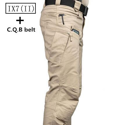 IX7 Tactical Men Pants Combat Trousers Army Military Pants Men Cargo Pants For Men Military Multi Pocket Style Casual Pants
