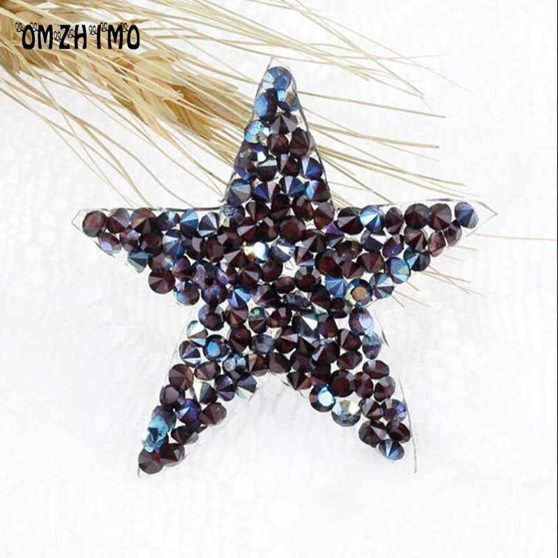 Applique Patch Strass Rhinestones Motifs Iron On Patches Crystal For Jeans Clothing Crafts Decorations