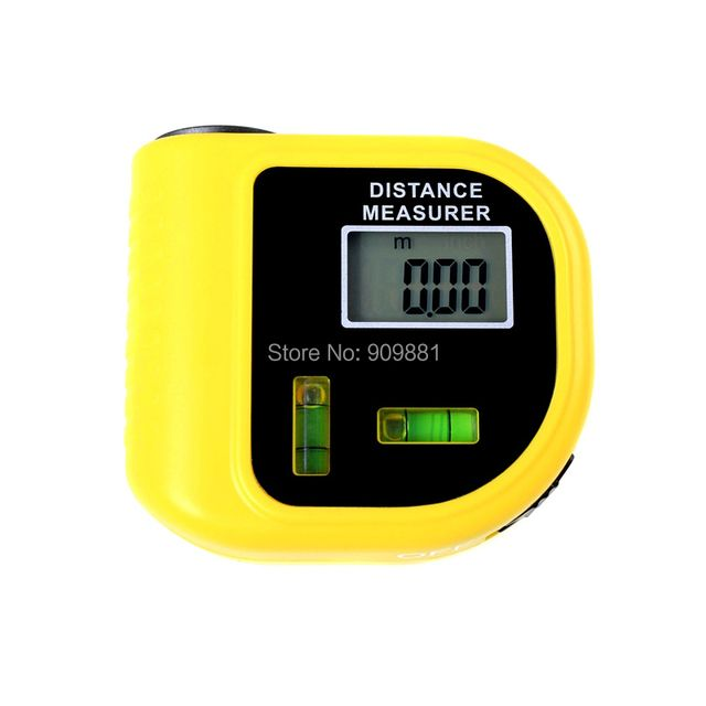 0.5-18m Laser Distance Meter Measurer CP3010 Ultrasonic Digital Tape Measure Laser Range Finder LCD Telemetre Laser Pointer