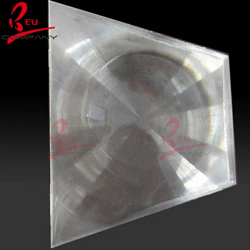 520*520MM Focal lenght 620MM  large plastic solar spot fresnel lens