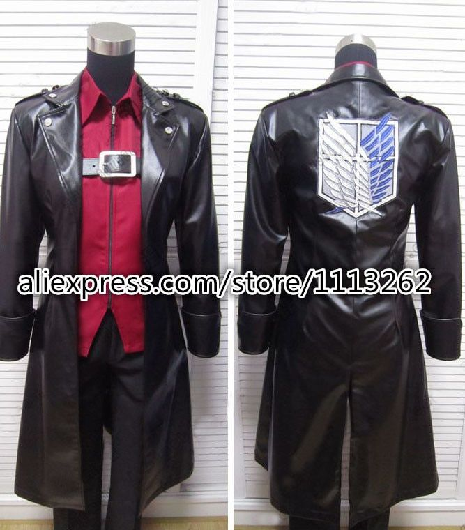 New 2019 Attack on Titan Eren Jaeger Clothing Shingeki no Kyojin  Cosplay Costume any size