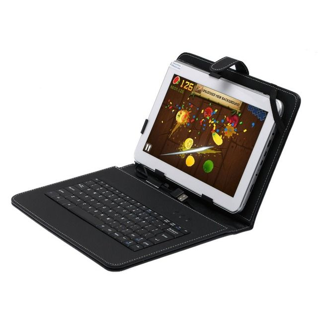 10.1 inch Dual Core Android 4.2 Tablet PC Dual Cam 1GB A20 Bundle Keyboard