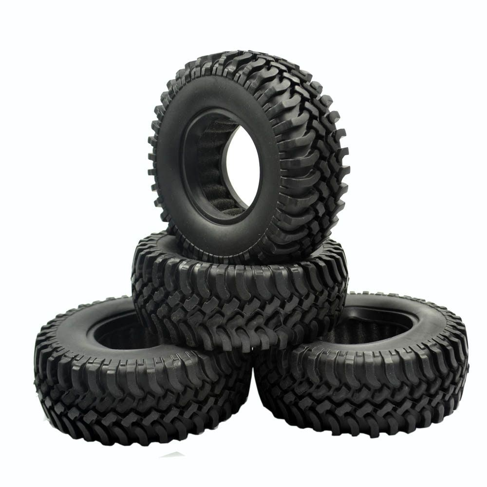"4pcs 100MM 1.9"" Tires Tyre for 1/10 RC Off-Road Rock Crawler Car"