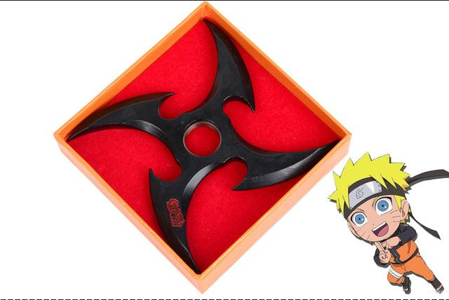 Black Classic naruto ninja Weapons Cosplay OW Darts uzumaki kunai throwing Toy Swords 9cm Accessories kids LELAKAYA