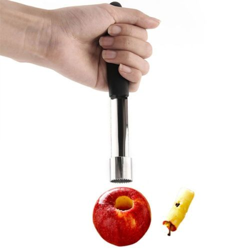 2015 New Steel Easy Twist Core Seed Remover Fruit Apple Corer Pitter Seeder Kitchen Tool Christmas  Gift