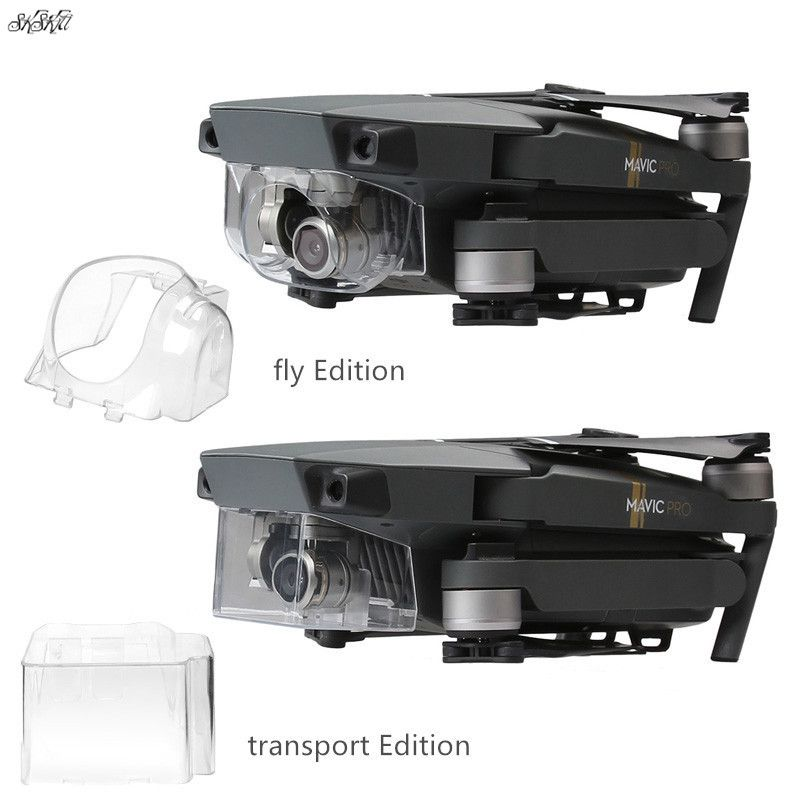 2pcs/set Camera Lens Gimbal Sun Hood Shade  &  transport flight Protective cover  for DJI Mavic Pro Drone accessories