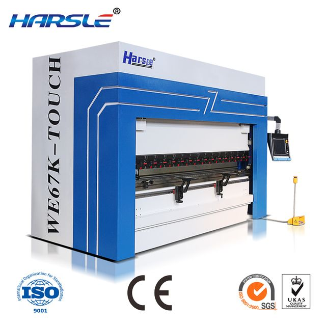 CE certificate high quality WE67K CNC  hydraulic press brake