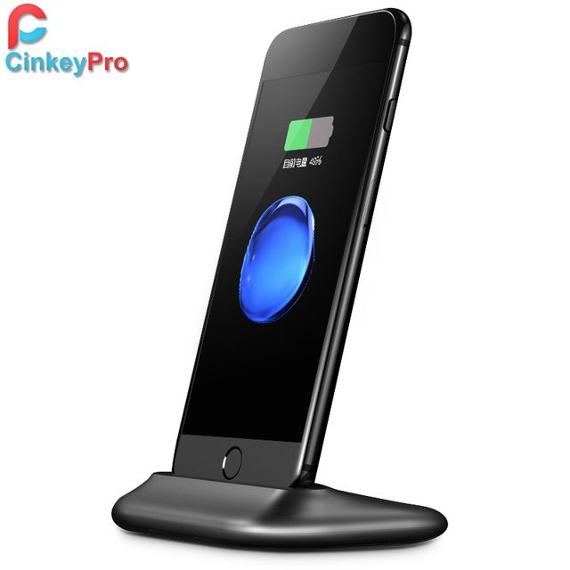 CinkeyPro USB Charger Dock For Apple iPhone 5 6 7 iPhone7 Plus 5V/2.4A Holder Stand Sync Docking Adapter Station Phone Charging