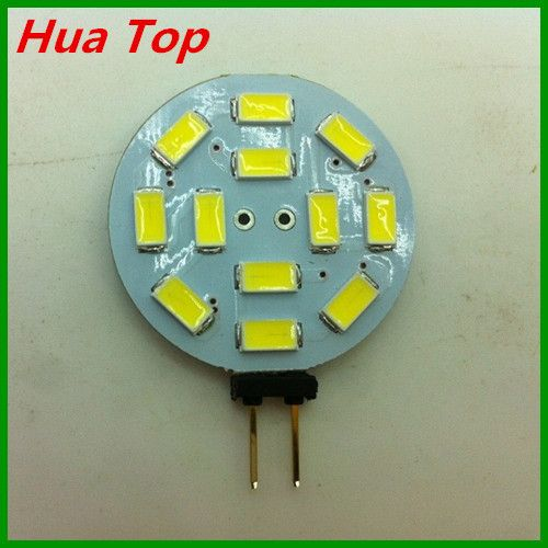 5pcs  DC/12V G4 5730 12 epistar  SMD  5630 LED Spotlight LED Crystal Light Warm white/ Cold white 4W 400Lumen ( Free Shipping )