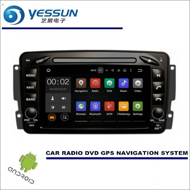 For Mercedes Benz CLK W208 A208 / CD DVD GPS Player Navi Radio Stereo HD Screen - Wince / Android Car Multimedia Navigation