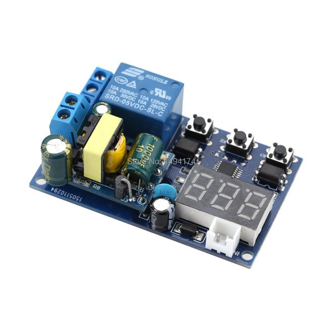 WQScosea Q8S-115   AC 110V 220V Self-lock Delay Timing Cycle Timer Relay Trigger Delay Time Switch PLC Home Automation Module