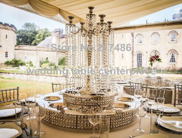 new style  crystal table top chandelier centerpieces for weddings , Tall crystal column wedding ,walkway leading road