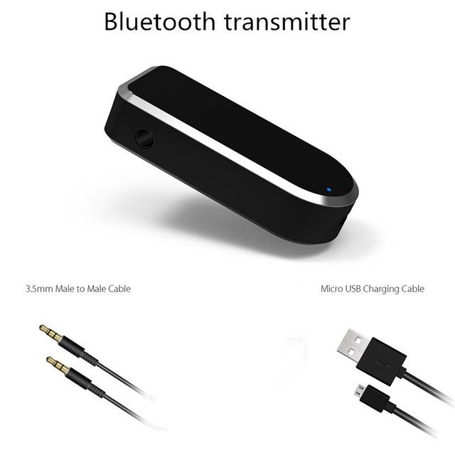 2016 New Wireless Audio Bluetooth V2.1 Transmitter Music Stereo Dongle Adapter for Home Theater TV Smart PC DVD MP3
