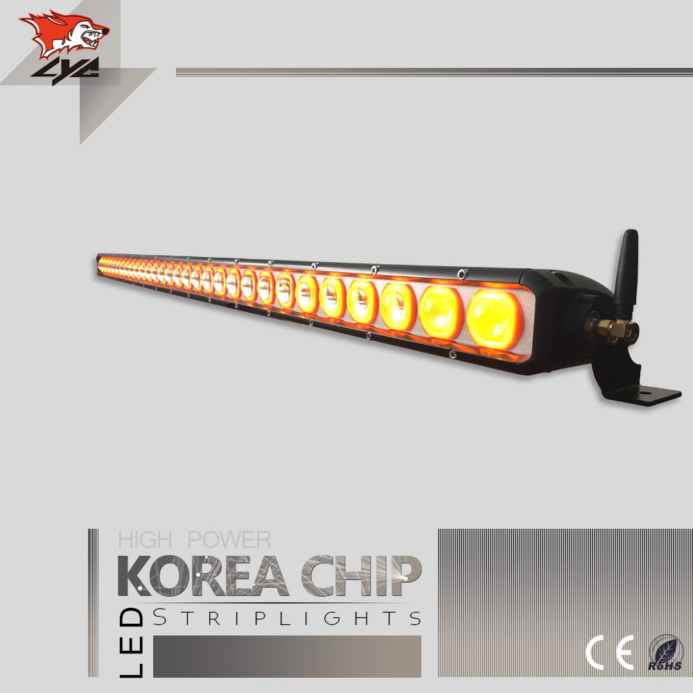 "LYC 40"" for Hummer H3 Light Bar Installation Led Light Bar Mount for Jeep Best Led Driving Light Bar Yellow White Combination"