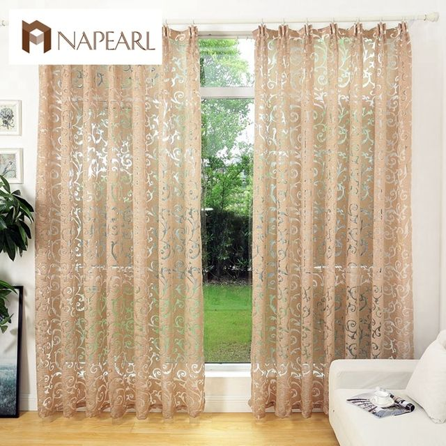 NAPEARL European style jacquard home textile window treatments cortinas for room