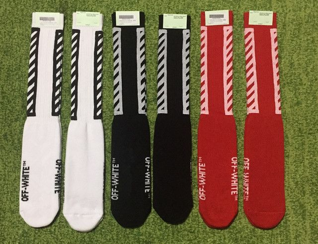 NEW Hot 2016 off white camo stockings couple socks hiphop off-white long sock justin bieber mens socks Exclusive fast delivery