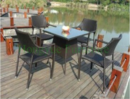 PE rattan outdoor furniture tables,outdoor furniture sets