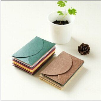 20pcs/lot Creative Retro Envelopes Blank Kraft Paper Vintage Scrapbook Envelopes Postcards Envelopes Kraft Enveloppe