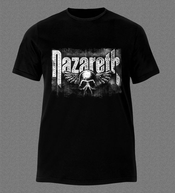NAZARETH LOVE HURTS HEAVY METAL HARD ROCK MUSIC T-Shirt Newest 2017  T Shirt Men T Shirt 2017 New Fashion Brand Clothing