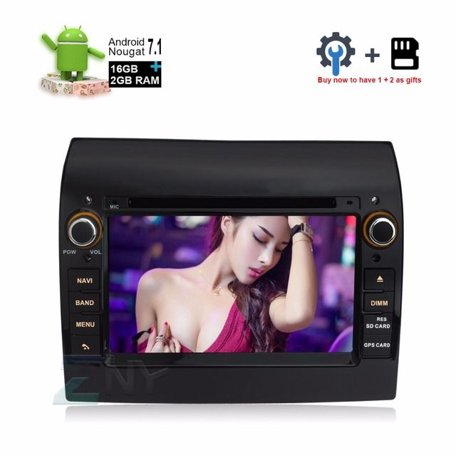 "7"" In Dash Android 7.1 Car Stereo Headunit For Fiat Ducato Citroen Jumper Peugeot Boxer Auto Radio RDS BT DVD GPS Navigation"