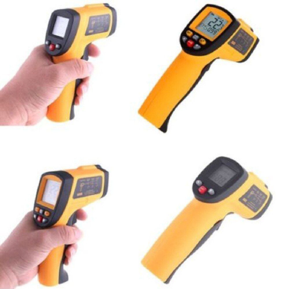 1pcs Thermal Camera Non-contact Gm700 Digital Lcd Ir Infrared Thermometers Temp Gun -50 To 700 Celsius Thermometer