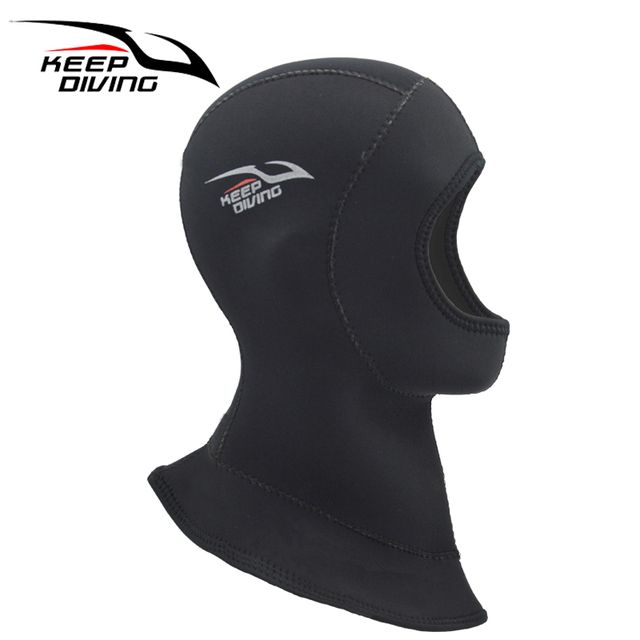 Keep Diving 4MM Neoprene Scuba Diving Cap Winter Diving Keep Warm And Thickening