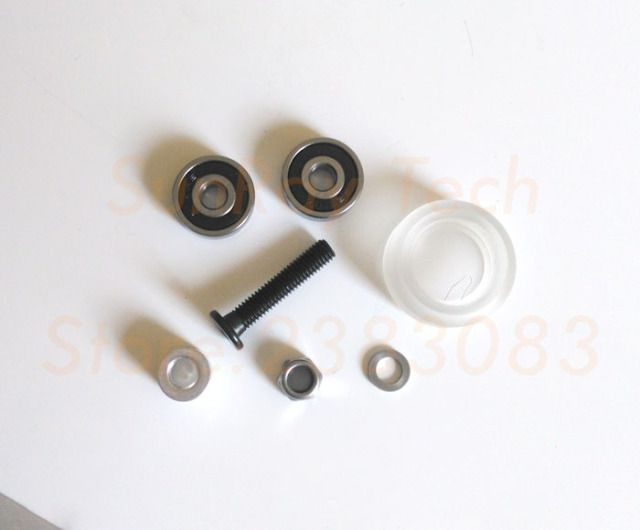Xtreme solid wheel Kit for VSlot OX CNC Poly Carbonate20sets Free shipping