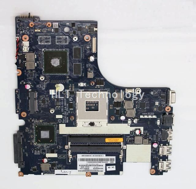 Original laptop Motherboard For Lenovo G500s ILG1/G2 LA-9901P Rev 1.0 HM76 non-integrated graphics card 100% fully tested