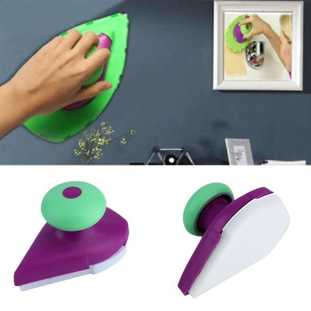2018 New ABS Point and Paint Roller Tray Set Household Painting Brush DIY Sponge Paint Pad Wall Decorative Tool Drop Shipping